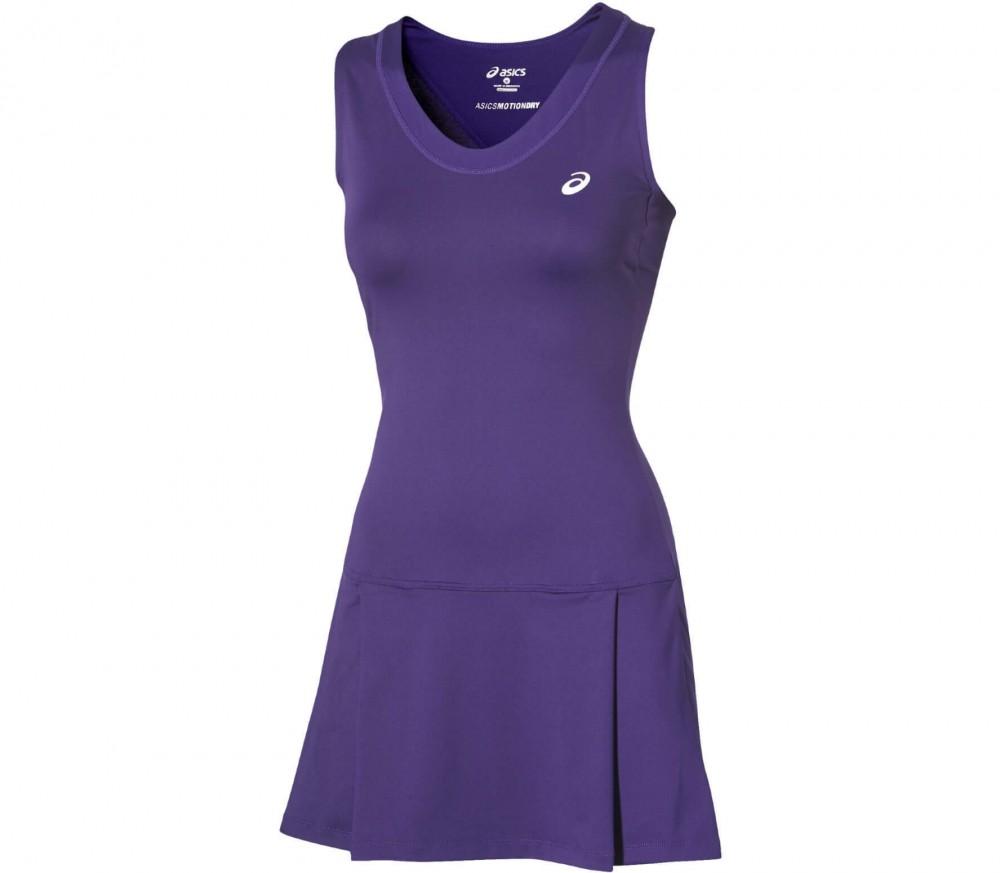 asics tennis jurk blauw