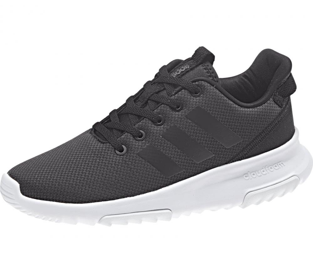 adidas neo   cf racer tr children s running shoes black